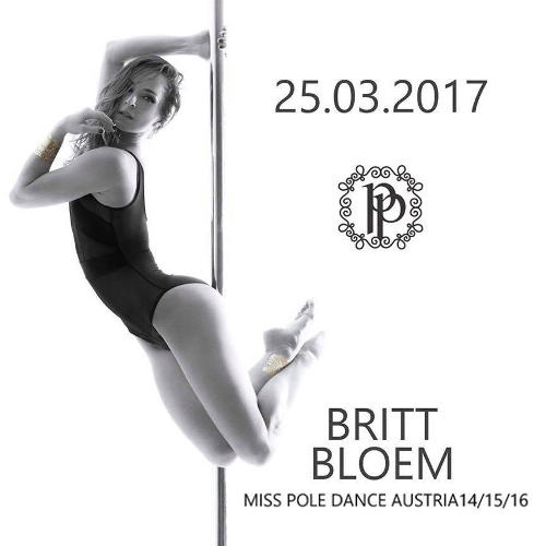 Workshops with Miss Pole Dance Austria Britt Bloem