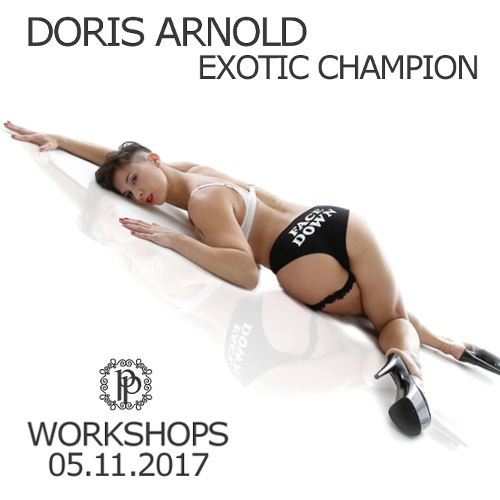 Workshops with Exotic Pole Champion Doris Arnold